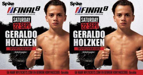 [Nieuws] Geraldo Holzken vecht ook op WFL FINAL 8!