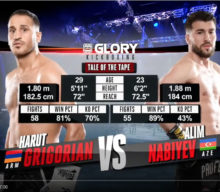 [Video] GLORY 54: Harut Grigorian vs Alim Nabiyev – Full Fight