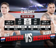 [Video] GLORY 54: Rico Verhoeven vs. Mladen Brestovac – Full Fight