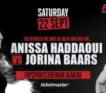 [Nieuws] rematch Jorina Baars vs. Anissa Haddaoui tijdens Spike presents: WFL Final 8